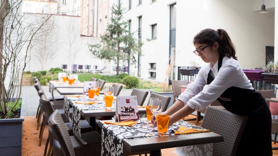 Restaurant-Ecole La Salle à manger à Lyon